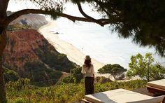 Prämiertes 4-Sterne-Hotel an der Algarve, Olhos d'água, bei Albufeira, direkter Zugang zum Strand, herrliche Aussicht, Pool im Hotel und im Freien.