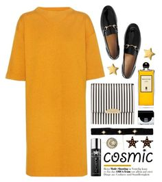 """""""Cosmic jewelry"""" by miee0105 ❤ liked on Polyvore featuring Étoile Isabel Marant, Henri Bendel, Gucci, Bartoli, Rebecca Minkoff, Serge Lutens, Givenchy, GlamGlow and Sydney Evan"""