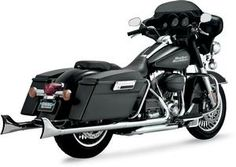 Python Fishtail Slip-On Mufflers Chrome- Harley Davidson FL Models 09 and newer - DS-1801-0522 Review Buy Now