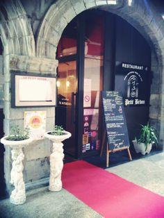 Le restaurant partenaire Le Petit Bedon avait lui aussi son tapis de star !