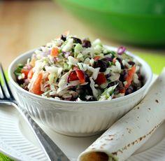 Lisa's Dinnertime Dish: Southwestern Coleslaw