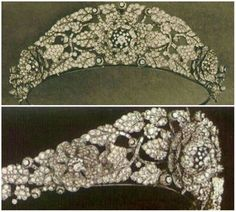 Queen Elizabeth II had her own Cartier tiara at one point when the Nizam of Hyderabad gave her this diamond piece to her as a wedding present when she wed Prince Philip of Greece in 1947