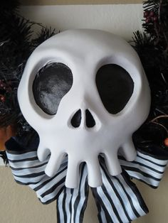 DIY Nightmare Before Christmas Halloween Props: Nightmare Before Christmas Prop Skulls for YOU...Available Now