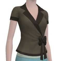 The Betty Blouse - Store - The Sims™ 3
