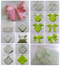Origami - bow