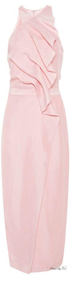 Cushnie et Ochs SS 2015, Cupro Desert Rose Dress | The House of Beccaria~