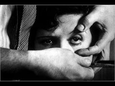 """Un Chien Andalou"" (Spanish) Directed by Luis Bunuel. Written by Luis Bunuel and Salvador Dali. Produced by Luis Bunuel and Pierre Braunberger. Salvador Dali, David Lynch, A Serbian Film, Best Short Films, Tomie Ohtake, Luis Bunuel, Video Clips, French Films, Art Moderne"