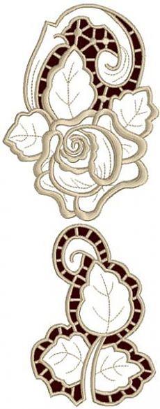 Advanced Embroidery Designs - Rose Embellishment Set