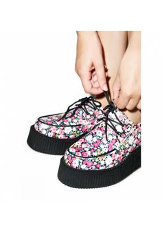 #DollsKill #TUK #Creepers #Floral #Platforms