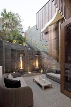 Outside sitting area