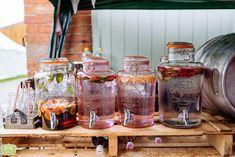 Wedding Bar Waves Photography, Farm Wedding, Mason Jars, Bar, Outdoor, Outdoors, Mason Jar, Outdoor Games, The Great Outdoors