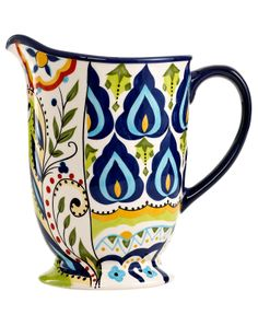 Espana Bocca Geo Pitcher - Serveware - Dining & Entertaining - Macy's