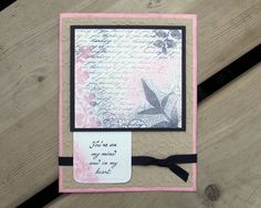 Floral Sympathy Card  Handmade Greeting Card  by saltonscovestudio, $3.75
