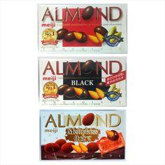 Meiji Almond Chocolate / Almond Black Chocolate Snack Food Various Flavor #Meiji