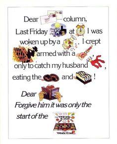Mackintosh's Weekend, 1974