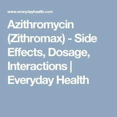Zithromax Side Effects In Cats