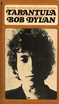 Resultat d'imatges de Tarántula Bob Dylan