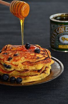 martha stewart blueberry pancakes