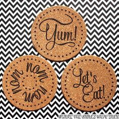 diy burned ikea cork trivets with a wood burner easy ikea hack, crafts, how to, repurposing upcycling