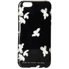 Marc by Marc Jacobs Phone Cases Painted Flower Phone 6 Case featuring polyvore, fashion, accessories, tech accessories, black multi and marc by marc jacobs
