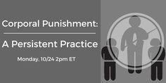 """Join Rhonda Brownstein, director, Southern Poverty Law Center, for Education Week's """"Corporal Punishment: A Persistent Practice"""" ET Education Week, Free Education, Empowering Parents, Western Michigan University, Southern Poverty Law Center, Associate Professor, Human Development, Adolescence, Pediatrics"""