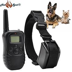Rechargeable and Waterproof LCD digital remote control electric training collar remote control electric shock devicesConvenience of easy-to-read LCD screen shows the stimulation level. Over 3,000 different identity codes to prevent conflicts with other e-collars.4 modes: static shock/ vibration/ beep/ light with 100 levels of vibration & static