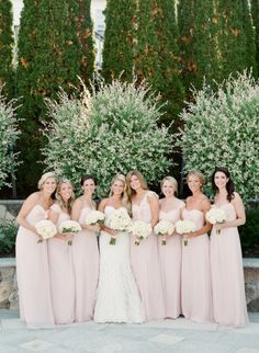 Soft pink beauties: http://www.stylemepretty.com/massachusetts-weddings/harwich/2015/07/20/cape-cod-wedding-at-wequassett-resort/ | Photography: Lynette Boyle - http://lynetteboylephotography.com/