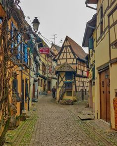 The village of Eguisheim in France. - IWishIwasAwhale1 - #nature #travel #landscape