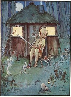 Peter Pan by Mabel Lucie Attwell