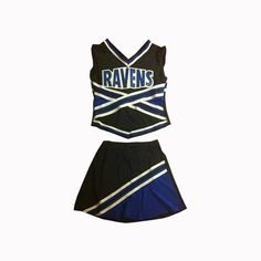 Image detail for one tree hill season two cheerleading outfit one interested to buy one tree hill ravens custom made cheerleading squad outfit publicscrutiny Choice Image