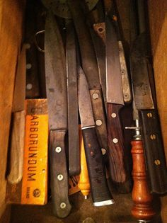 You can't beat carbon steel knives.