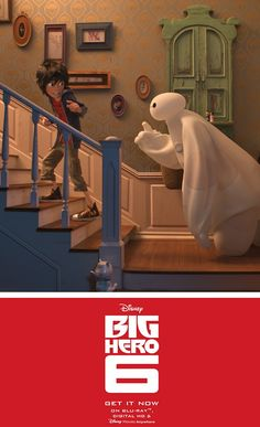 Bring home Disney's Big Hero 6 now on Disney Movies Anywhere and on Blu-ray! Disney Dream, Disney Fun, Disney Trips, Disney Pixar, Big Hero 6, Best Disney Animated Movies, Disney Movies Anywhere, Great Movies To Watch, Sunshine And Whiskey