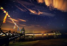 Meteor Shower photo shot - Early morning this morning to capture Meteor Shower…