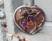 Double sided Mirror, Mosaic Heart Make Up Mirror, Octopus Mirror, Pocket Mirror, Rose Mirror, Wedding Mirror