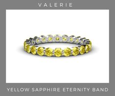 Sapphire Eternity Band, Eternity Bands, Custom Jewelry, Wedding Bands, White Gold, Beaded Bracelets, Gemstones, Yellow, Diamond