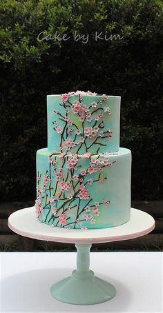 cherry blossom cake | Flickr - Photo Sharing!