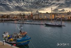 10th November, dusk at the Victoria Marina, St. Peter Port. Starting to become chilly in the evenings now #winter #Guernsey #GreatThings  Link to the whole collection of 'Georgie's Guernsey' :-http://chrisgeorge.dphoto.com/#/album/4daaes  Picture Ref: 10_11_16 — in Guernsey.