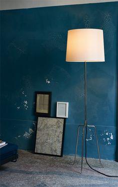 Dreistelz floor lamp produced by Kalmar - J.T. Kalmar