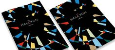Creative Review - SomeOne looks to Vorticists for Halcyon identity