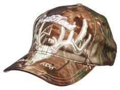 205d9004491 RedHead® Full Skull Logo Camo Cap for Men