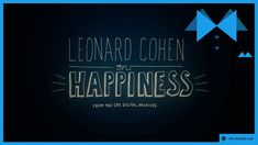 Leonard Cohen talks happiness and LSD in 1966 animated interview
