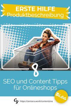 SEO und Content Tipps für Onlineshops. Produktbeschreibungen, die convertieren und gut ranken. ✓ Content Tipps ✓ SEO Tipps ✓ Amazon und Etsy Tipps #onlineshop #webshop #content #onlinemarketing #marketing #seo