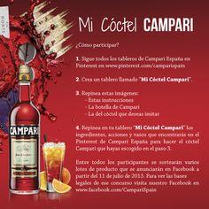 Instrucciones #micoctelcampari