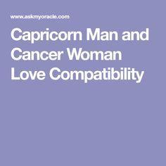 Capricorn man cancer woman break up