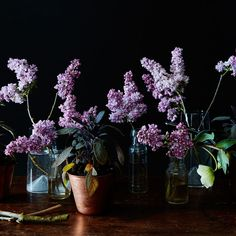 For Party-Friendly Centerpieces, Mix Flowers with Plants on Food52