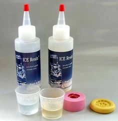 Resin tutorial with Ice resin