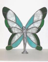 Stained glass butterfly hobbies-and-crafts