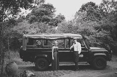 Africa safari wedding portraits from Kenya.