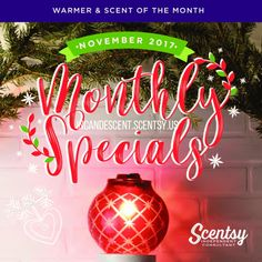 SCENTSY NOVEMBER 2017 WARMER & SCENT OF THE MONTH ~ CHRISTMAS GLOW SCENTSY WARMER & DAZZLING POMEGRANATE FRAGRANCE | Scentsy® Buy Online | Scentsy Warmers and Scents | Incandescent.Scentsy.us