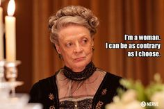 """How to Make Love Like """"Downton Abbey""""'s Dowager Countess 